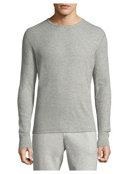 Men's Classic Waffle Knit Crewneck Top by Rag & Bone