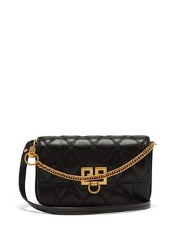 Pocket Quilted Leather Cross Body Bag by Givenchy