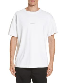 Logo Graphic T Shirt by Acne Studios
