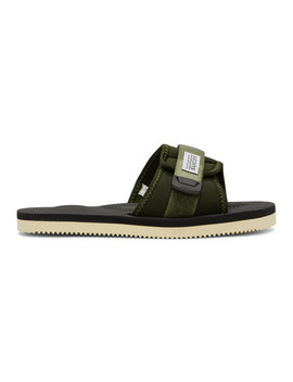 Green Padri Sandals by Suicoke