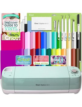 Cricut Explore Air 2 Vinyl Bundle With 26 Sheets Of Vinyl And More! by Cricut