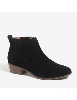 Waterproof Suede Boots by J.Crew