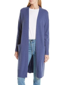 Boiled Cashmere Open Cardigan by Nordstrom Signature