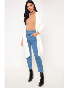 Cream Oversized Cardigan by I Saw It First