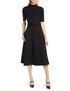 X Atlantic Pacific Stretch Ponte Dress by Halogen®