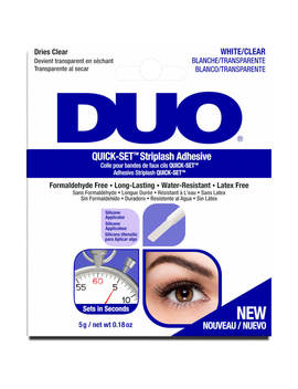 Duo Quick Set Striplash Adhesive 5g   Clear by Duo