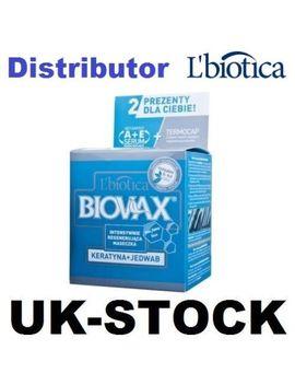 L'biotica Biovax Keratin + Silk Hair Mask 250 Ml L Biotica Lbiotica ( 2 Gifts ) by Ebay Seller