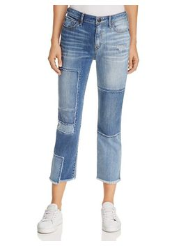 Deconstructed Stove Pipe Jean In Mykonos by True Religion