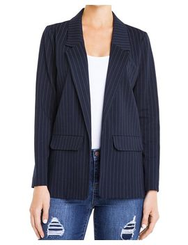 Pinstriped Boyfriend Blazer by Liverpool