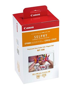 Canon Rp 108 Color Ink/Paper Set, Compatible With Selphy Cp910/Cp820/Cp1200/Cp1300 by Canon
