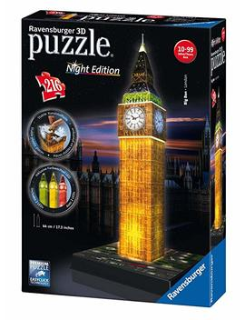 Ravensburger Big Ben   Night Edition, 216pc 3 D Jigsaw Puzzle® by Ravensburger