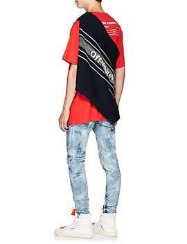 Bernini Print Cotton Oversized T Shirt by Off White C/O Virgil Abloh