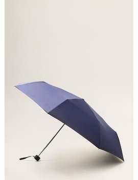 Umbrelă Pliantă Netedă by Mango