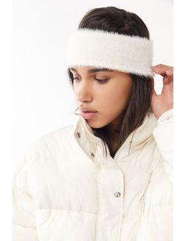 Eyelash Yarn Headband by Urban Outfitters