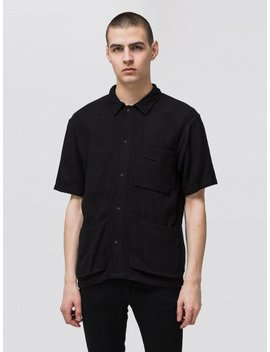 Svante Net Worker Shirt Black by Nudie Jeans