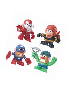 Playskool Friends Mr. Potato Head Marvel Super Rally Pack by Potato Head