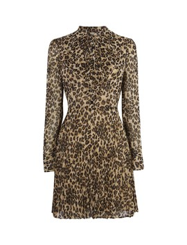 Leopard Mini Dress by  Karen Millen
