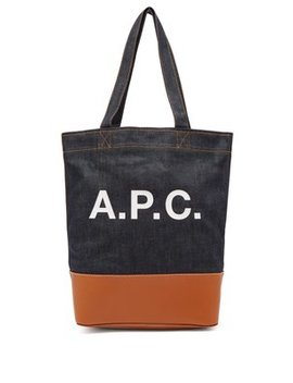 Axel Japanese Denim Tote Bag by A.P.C.