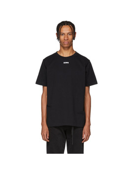 Black Byredo Edition 'down' Slim T Shirt by Off White