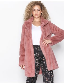 Visofta Faux Fur Coat/Pb by Vila