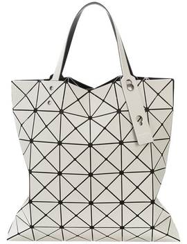 Adjustable Strap Triangle Pvc Bag by Issey Miyake