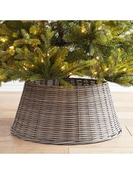Gray Woven Tree Collar by Pier1 Imports