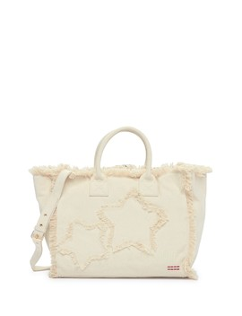 Large Frayed Satchel by Peace Love World