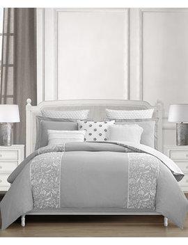 Closeout! Althrop 8 Pc. Cotton Queen Comforter Set by Lacourte