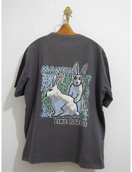 Mambo Australia T Shirt Xl Grey Like Rabbits Surfing Skateboarding by Etsy