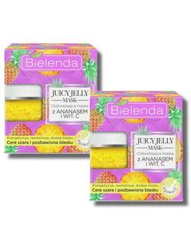 2x Bielenda Mask Pineapple & Vit. C ,A,B   24 App by Ebay Seller