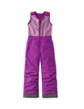 Kids' Fleece Upper Bibs by L.L.Bean