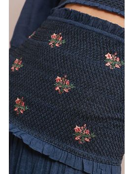 Aster Embroidered Skirt by Steele