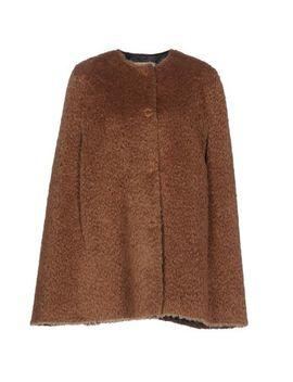 Erika Cavallini Cape   Coats & Jackets by Erika Cavallini