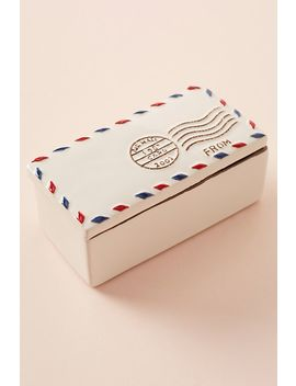 Envelope Trinket Box by Anthropologie