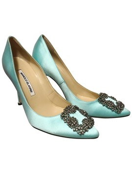 Hangisi Pumps by Manolo Blahnik