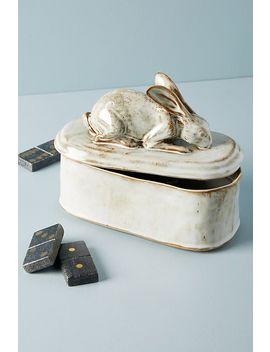 Bunny Trinket Box by Anthropologie