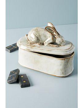 bunny-trinket-box by anthropologie