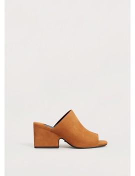Sapato Pele Salto by Mango