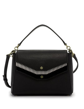 Mason Triple Flap Satchel by Henri Bendel