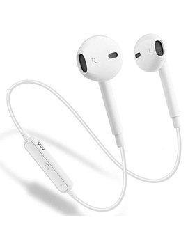 Wireless Bluetooth Headphones, Gejin Bluetooth 4.1 Waterproof Sports Earphones, Noise Cancelling Earbuds (White) by Gejin