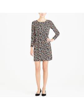 Printed Tulip Hem Dress by J.Crew