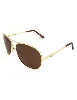 J+S Premium Military Style Classic Aviator Sunglasses, Polarized, 100 Percents Uv Protection by J+S