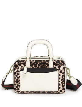 Rowan Boxy Haircalf Satchel by Henri Bendel