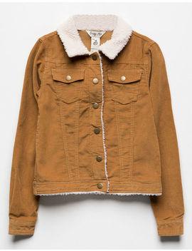 Indigo Rein Sherpa Girls Corduroy Jacket by Indigo Reign