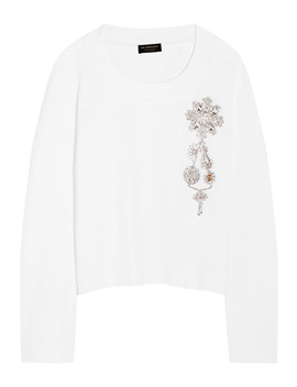 Cotton Jersey Sweatshirt by Burberry