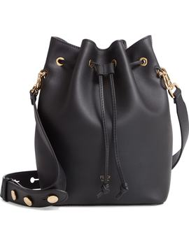 Mon Tresor Logo Bucket Bag by Fendi