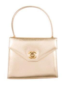Metallic Mini Kelly Bag by Chanel