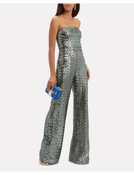 Carleen Sequin Jumpsuit by Alexis