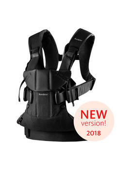 Baby Björn One Baby Carrier 2018, Black by Baby Björn