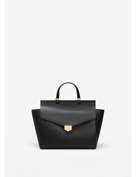 Buckle Tote Bag by Mango